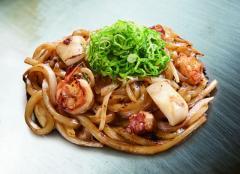 Yakiudon Mixed Seafood
