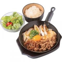 Beef Sukiyaki Rice Seti